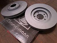 Тормозные диски Mazda CX-9 передние производителя Zimmermann (Германия), фото 1