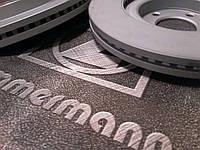 Тормозные диски Honda CR-V (RE, 2006- ) передние Zimmermann, фото 1