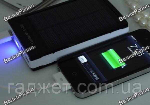 Solar power bank 30000 mAh зарядка на солнечной батареи