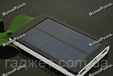 Solar power bank 30000 mAh зарядка на солнечной батареи, фото 3