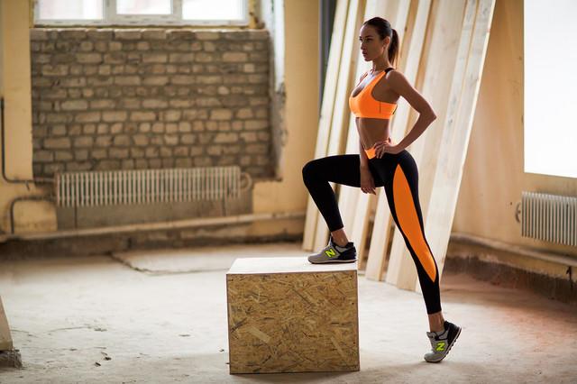 Basic Orange костюм для фитнеса от Designed For Fitness