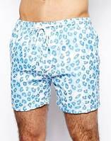 Голубые пляжные шорты Brave Soul