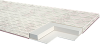 Мини-матрас для дивана  Тop L Sleep&Fly (ЕММ) 800х1900х40 мм топпер