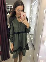 Женское платье Ирина с сеточкой на плечах