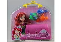 Кукла с сундучком и питомцами в чемоданчике