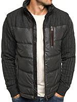 Модная мужская куртка-свитер, фото 1