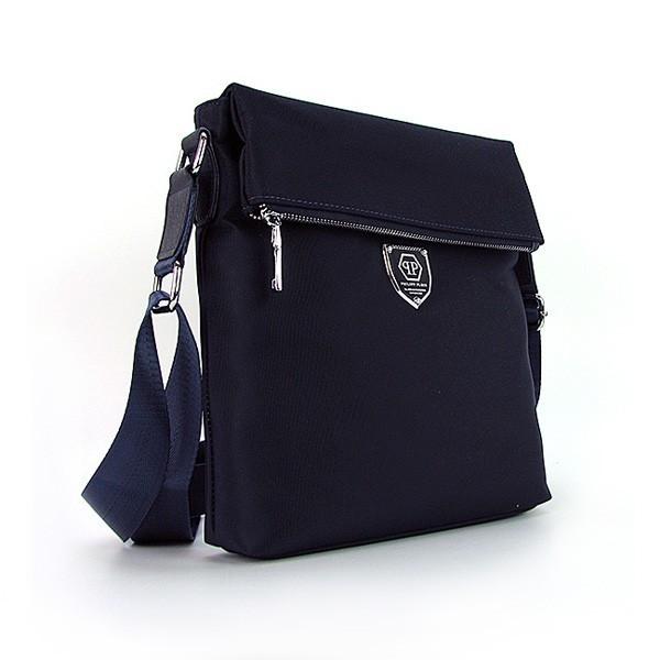 3398175ee699 Мужская сумка Philipp Plein синяя текстильная - Интернет магазин сумок  SUMKOFF - женские и мужские сумки