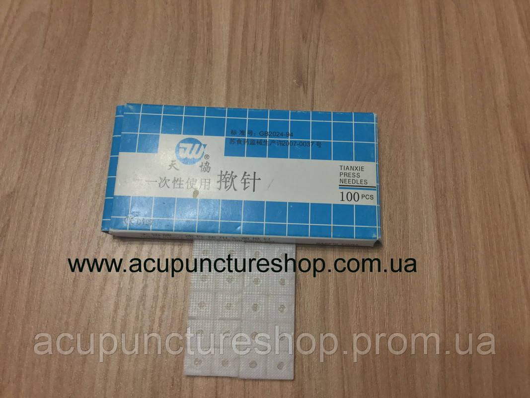 Аккупунктурные микроиглы ушные Tianxie Press Needles - Все для рефлексотерапии и татуировки в Львове