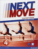 Книга для учителя Next Move 4 Teacher's Book with Multi-ROM