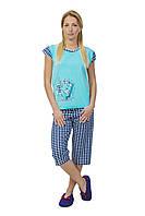Женская пижама с бриджами Турция