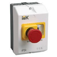 """Защитная оболочка с кнопкой """"Стоп"""" IP55 ИЭК. IEK"""