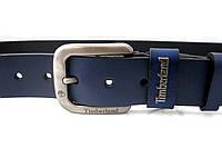 Timberland - синий кожаный ремень