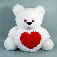 Мишка с сердцем большой арт. 00456, подарок на день Валентина, мягкие игрушки детские