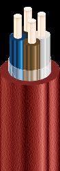 Кабель ВВГ нг 4х2,5-0,66 ЭЛТИЗ.