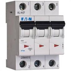 Автоматический выключатель PL4-B10/3 MOELLER-EATON.