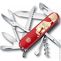 Подарочный Набор (нож + Аксессуары) Victorinox Huntsman Year of the Rooster Red (1.3714.E6)