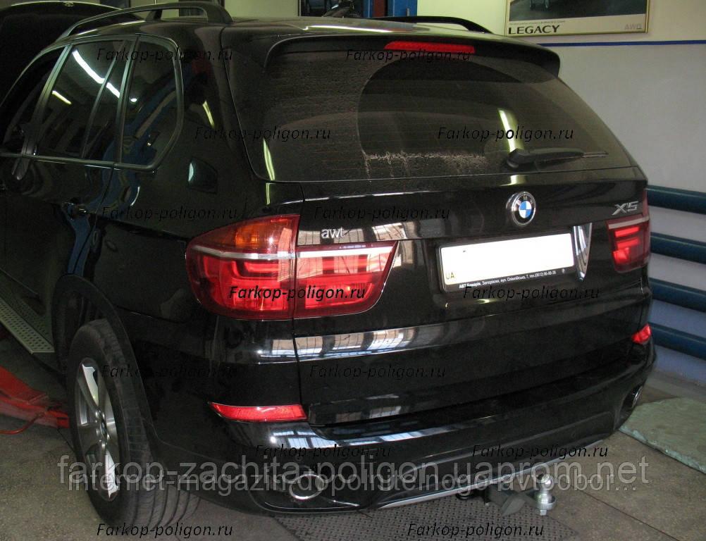Фаркоп швидкознімний BMW X5 (E70) з 2006 - 2011 р. р.