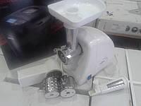 Мясорубка Ротор  ЭМШ 35/250 (3в1) (мясорубка+соковыжималка+шинковка)