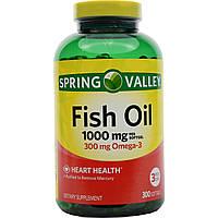 Omega-3 рыбий жир 1000 мг производство США (300 таблеток)