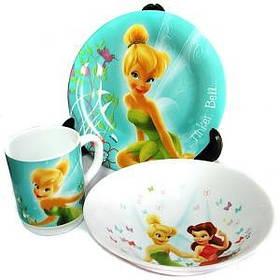 Детский   набор Disney Fairies  Butterfly  3 предм H5839