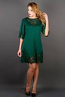 Платье Валенсия - зеленый: 46,48,50,52