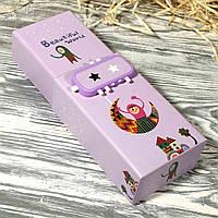 Подарочная коробка-пенал с кодовым замком 118-6#7 (20*6,5*4 см)