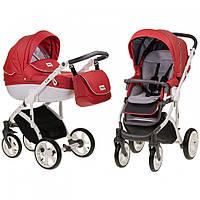 Детская универсальная коляска 2 в 1 Mioobaby Zoom Red/White