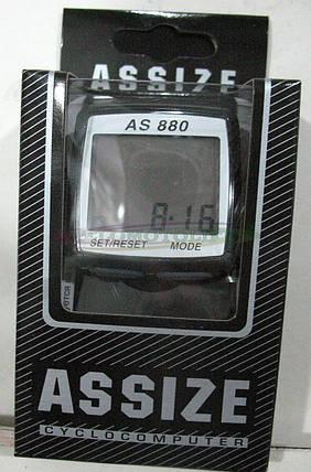Велокомпьютер ASSIZE AS-880  проводной (11 режимов), фото 2