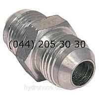 Прямой соединительный фитинг, JIC, 7601
