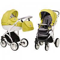 Детская универсальная коляска 2 в 1 Mioobaby Zoom Sunny Lime