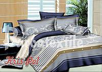 """Комплект постельного белья ранфорс от украинского производителя ТМ """"KRISPOL"""" (Хмельницкий)"""