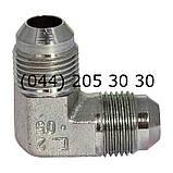 Угловой соединительный фитинг, JIC, 7602, фото 2