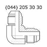 Угловой соединительный фитинг, JIC, 7602, фото 3