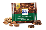 Шоколад Ritter Sport Whole Almonds (Риттер Спорт с миндалем), 100 г, фото 2