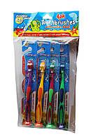 Pristine Gleam kids зубная щетка для детей 3+лет. 1шт (Польща)