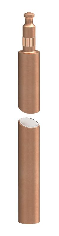 Стержень заземления OBO BETTERMANN с медным покрытием (12400 8x50 CU)