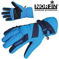 Перчатки мембранные с утеплителем NORFIN WINDSTOP BLUE WOMEN