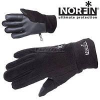 Перчатки флисовые с утеплителем NORFIN FLEECE BLACK WOMEN