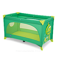 Манеж-кроватка Chicco Easy Sleep Green Jam 79087.92