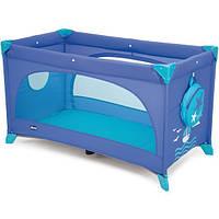 Манеж-кроватка Chicco Easy Sleep Marine 79087.42