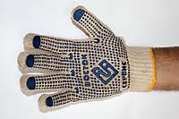 Рабочие перчатки с ПВХ точкой «Восток»