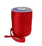 Косая бейка (атласная) - цвет красный