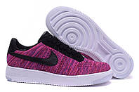 """Кроссовки Nike Air Force 1 Ultra Flyknit Low """"Pink/White/Black"""""""