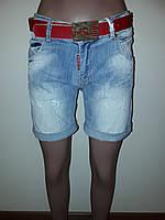 Джинсовые шорты средней длины RedBlue 7147