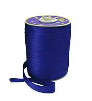 Косая бейка (атласная) - цвет синий