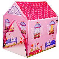 Большая детская игровая палатка Сад принцесс (домик-палатка)