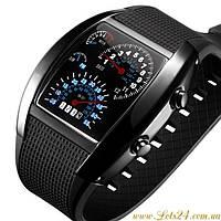 Часы спидометр Street Racer (электронные, LED подсветка)