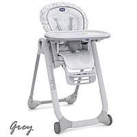 Крісло для годування Chicco Polly Progress Grey