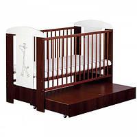 Детская кроватка Klups Safari Zyrafka с ящиком 12060SZOSH