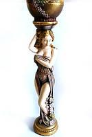 Скульптура Аврора цветная гипсовая